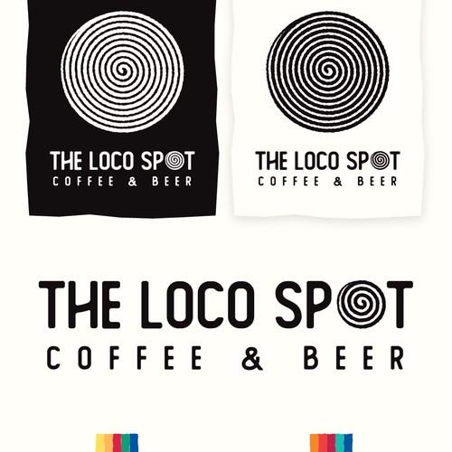 The Loco Spot Logo Identity and Logotype