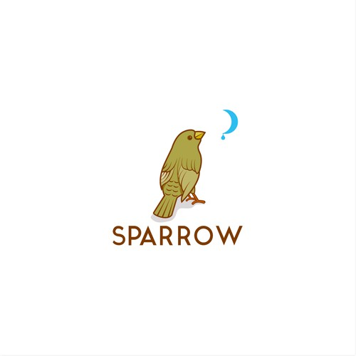 Bold logo concept for Sparrow