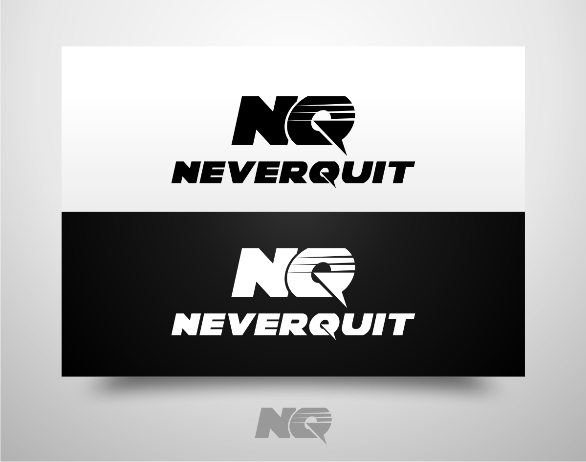 Create the next logo for Never Quit, Inc.