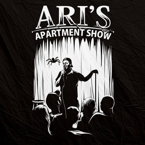Design a T-Shirt for a unique Apartment Comedy Show