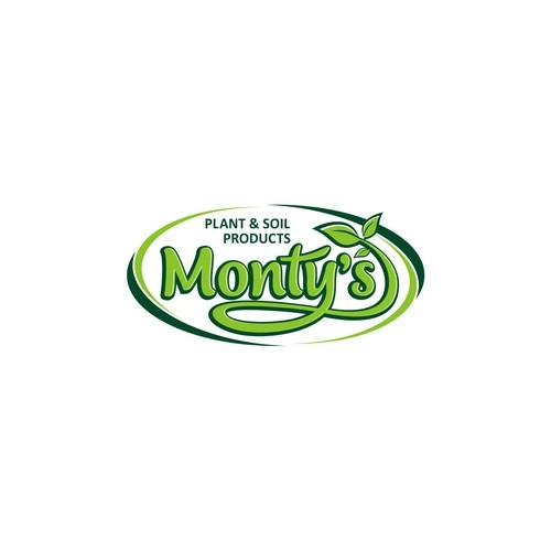 Monty's Plant Food Logo