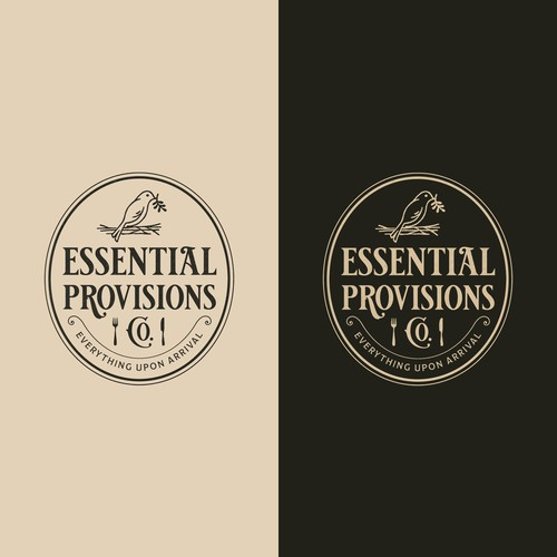 Essential Provisions Co. Logo Design