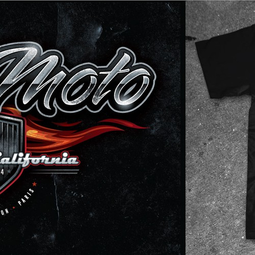 VicciMoto Motorsport T-shirt Design- Motorsport/Fashion/Racing/Sports Cars/Motorcycles