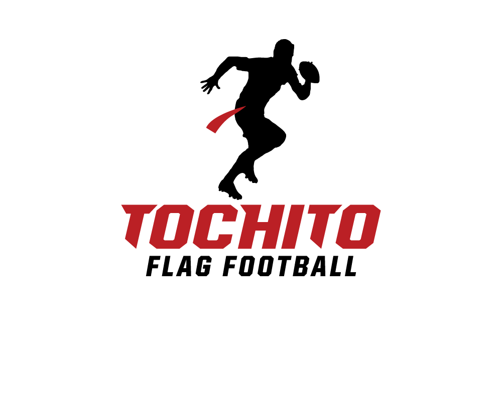 Create the next logo for tochito (flag football)