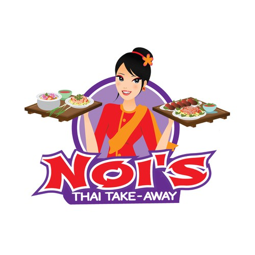 Create a playful logo for our small Thai food truck