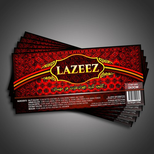 Lazeez Label