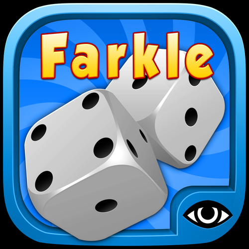 Farkle with friends iOS app icon