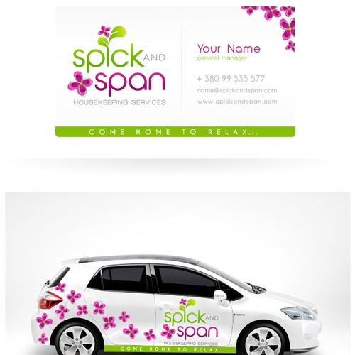 Help Spick and Span Housekeeping Services with a new logo