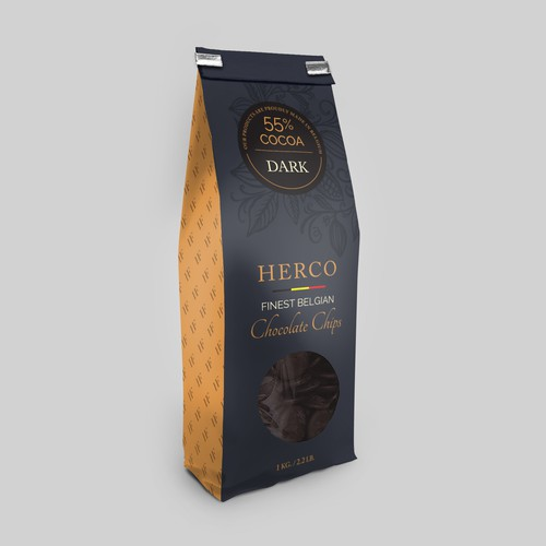 Belgian Chocolate Packaging Design