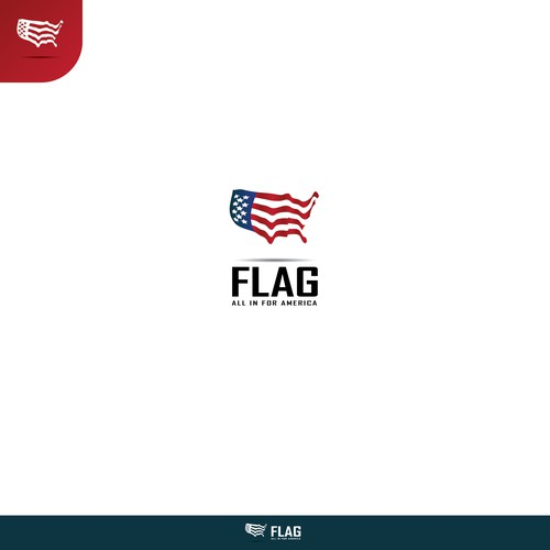 A simple, creative, instantly-recognizable US/international logo