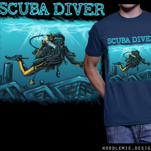 +++ Design a new breathtaking SCUBA DIVER Shirt +++