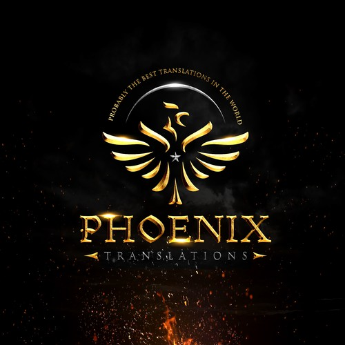 Logo design for Phoenix Translations