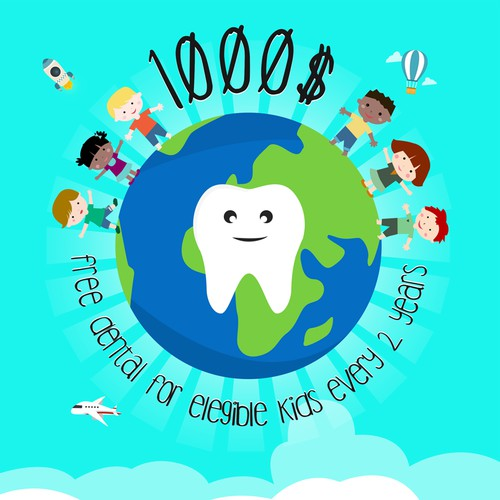 REDESIGN $1000 DENTAL OFFER POSTER