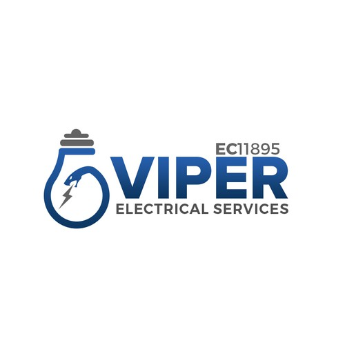 Logo for electrical contractor services- Viper Electrical Services