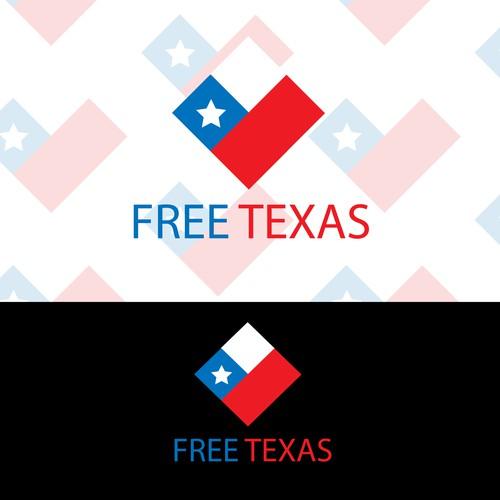 Create a winning design logo for FreeTexas