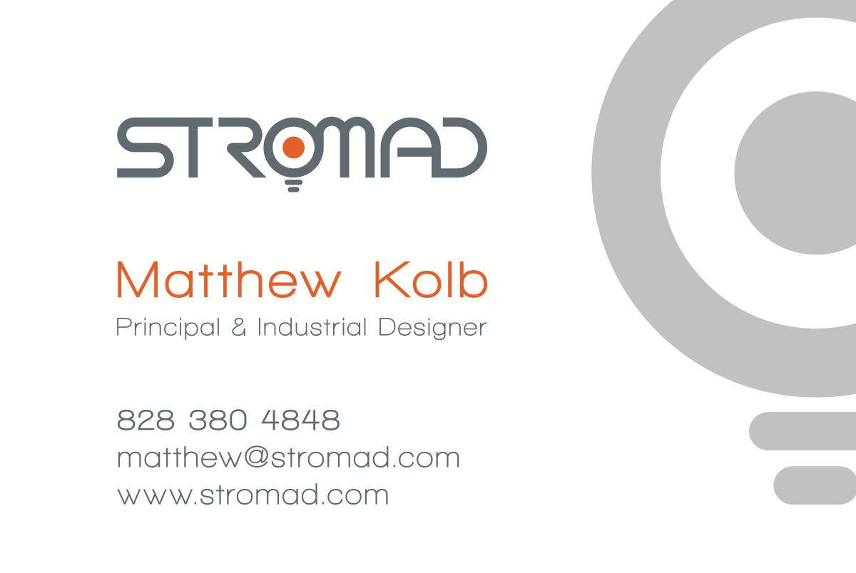 Stromad Business Card