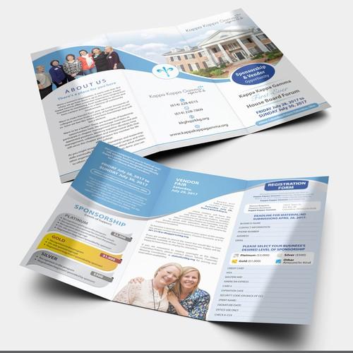 Kappa Kappa Gamma House Board Brochure