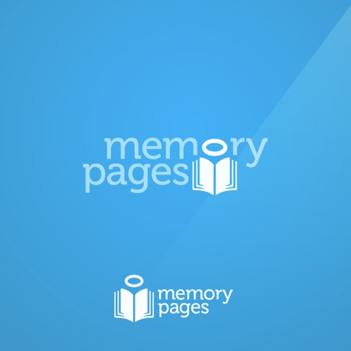 Create a Logo for a website that helps people remember loved ones who have died -- Memory Pages