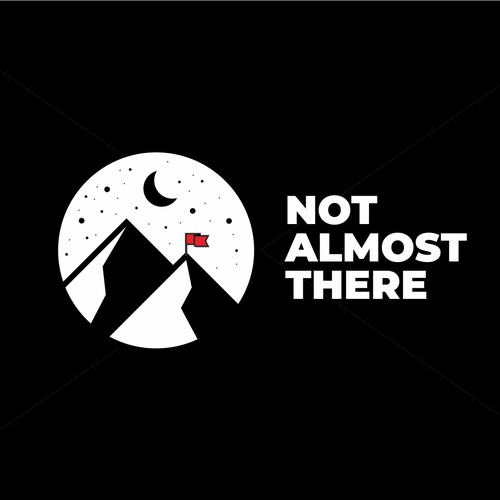 logo concept for not almost there