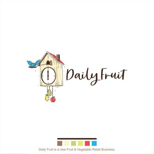 Logo concept for Daily Fruit