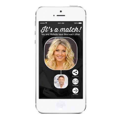 Logo concept for dating app