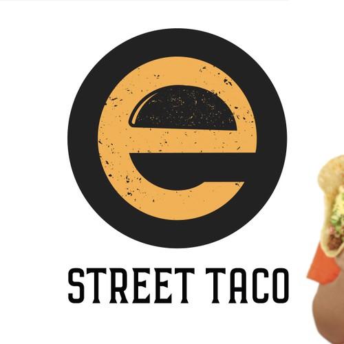 Street taco logo concept