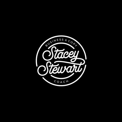Curvy logo for Stacy Stewart business & copy coach
