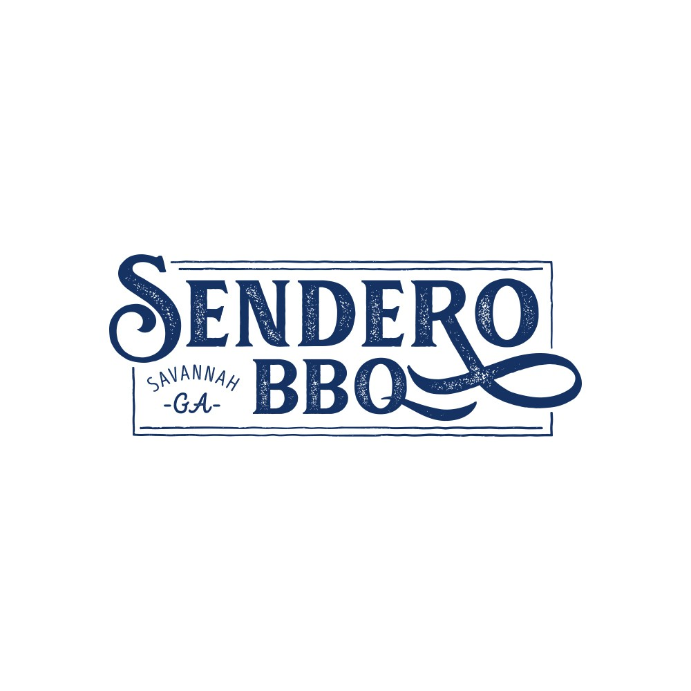 Sendero BBQ needs a fitting, rustic logo