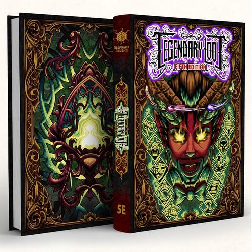 Legendary Loot Book Cover Design
