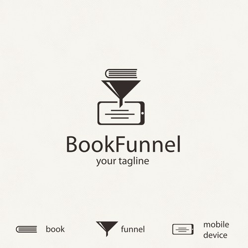 bold logo concept for ebook delivery start up
