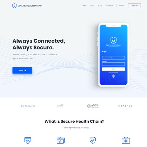 Web Pages for Healthcare