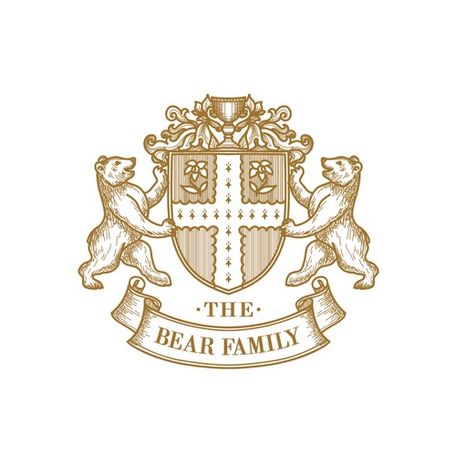 the bear family logo