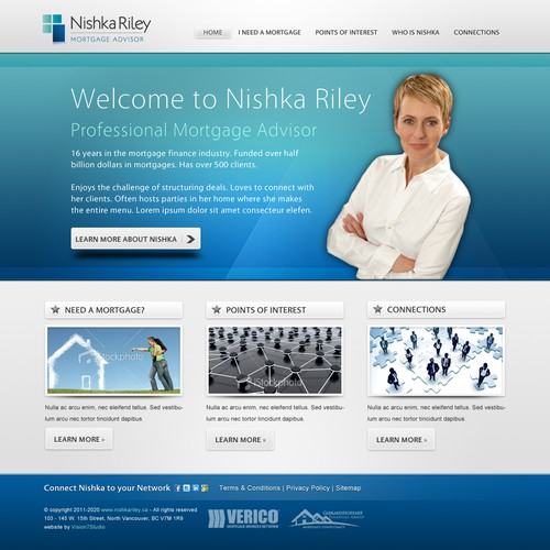 Mortgage Advisor needs a Web Site
