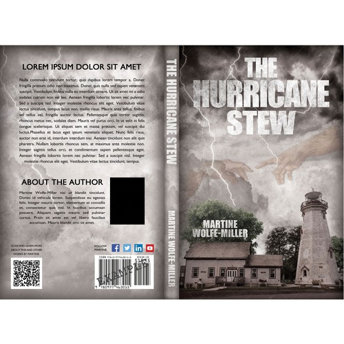 The Hurricane Stew - book cover