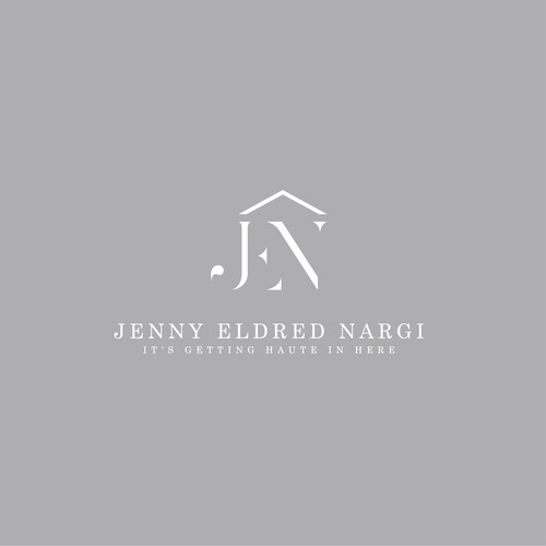 JENNY ELDRED NARGI LOGO DESIGN
