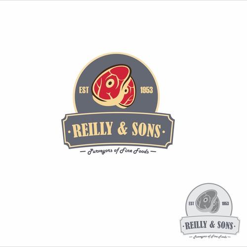 Reilly & Son Design Logo