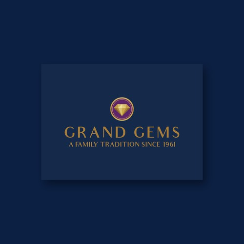 Grand Gems Logo Design