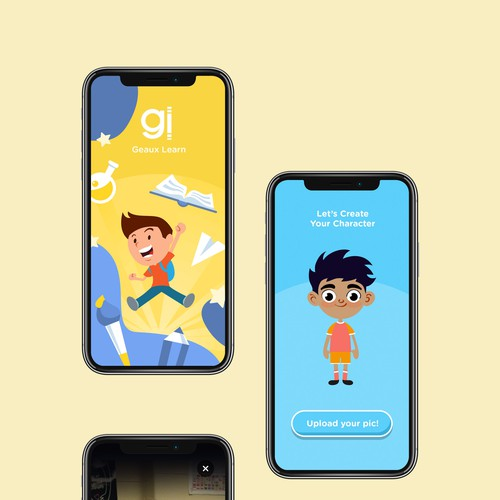 App design for Kid's Avatar & Story
