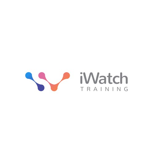 Creative logo concept for iWatch