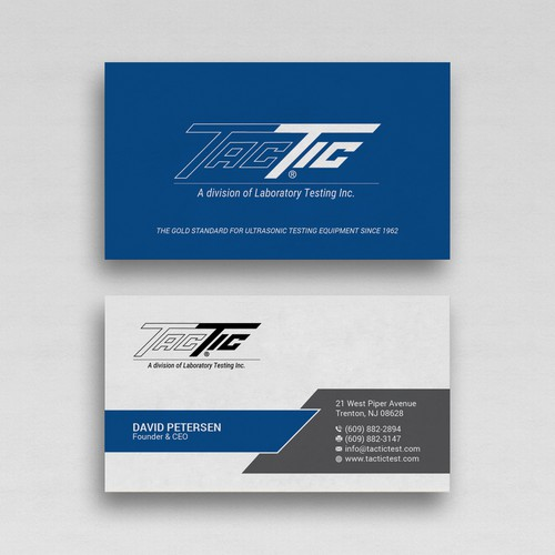 Design an Eye-catching Business Card to complement our new website.