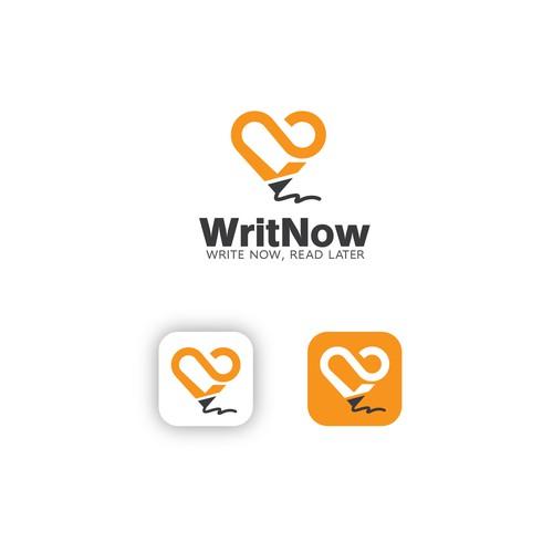 App Logo Design For WRITNOW
