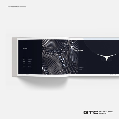 Brand book for General Tool Company
