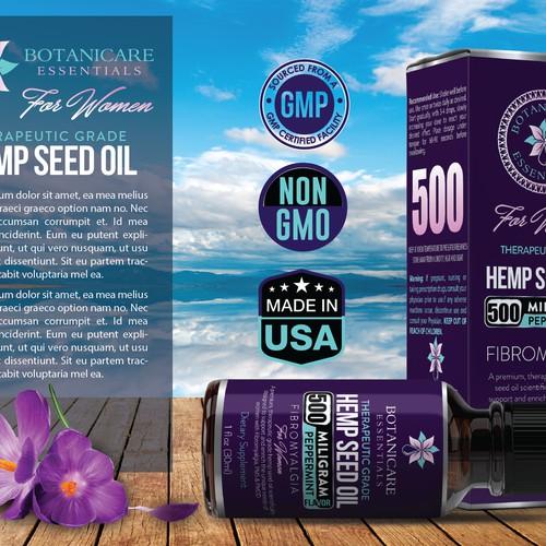 Hamp seed oil
