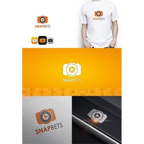Snapbets iOS App Needs Modern & Memorable Logo Designed