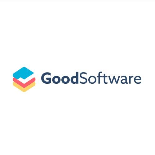 Goodsoftware logo design