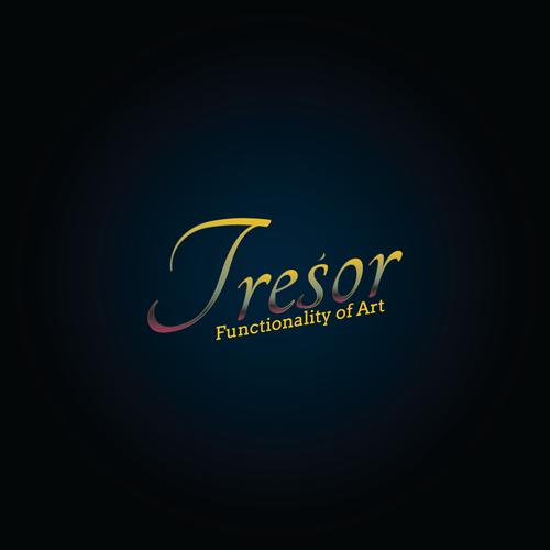 Luxurious logo concept for Tresor