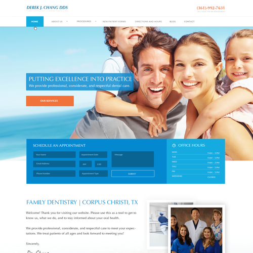 Website for Dental Practice