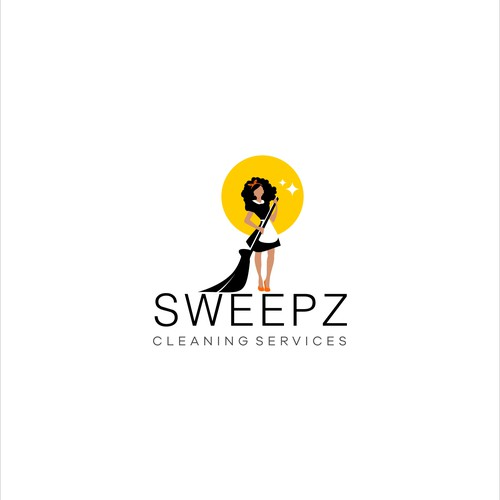 Logo design for Sweepz Cleaning Services company