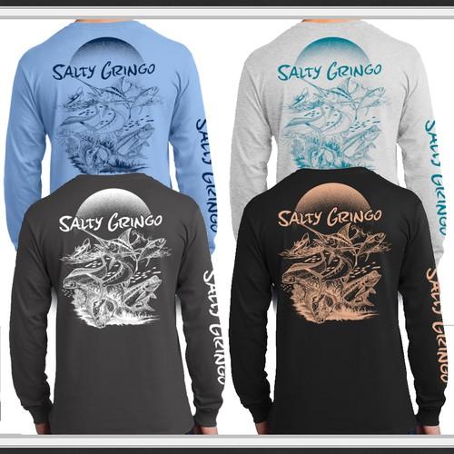 contest Salty Gringo Shirts