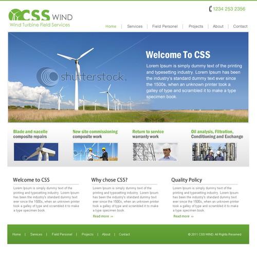 Wind Turbine Repair and Maintenance Website